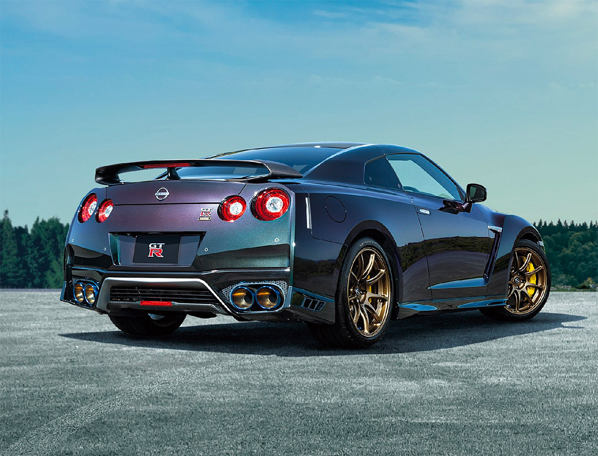 Nissan Introduces 2021 GT-R T-Spec at werd.com
