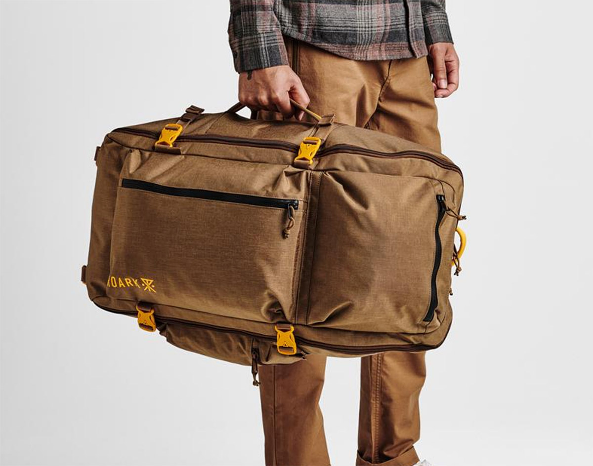 Haul It All with the 5-Day Mule Bag at werd.com
