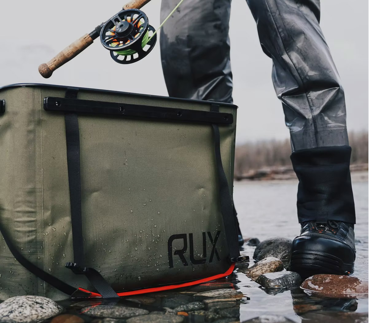 Carry It All in Rux Collapsible Totes at werd.com