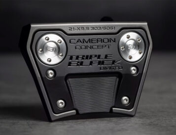 Scotty Cameron x Titleist Phantom X 9.5 Triple Black Putter