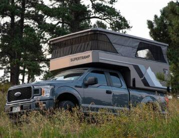 Supertramp Introduces LT Fiberglass Camper