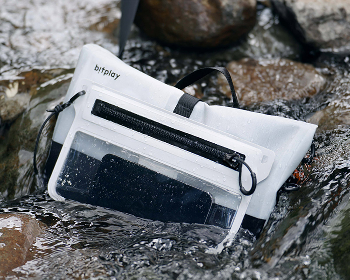 The AquaSeal Sling Keeps Your EDC High & Dry at werd.com