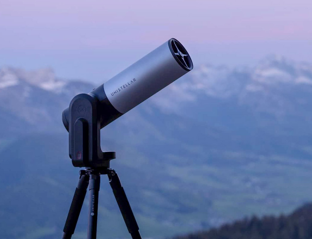 See Space Up Close with eVscope 2 Telescope at werd.com