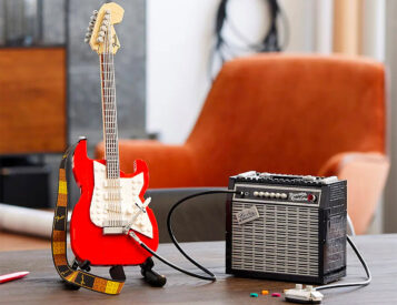 LEGO Turns It Up To Eleven with Fender Strat Set