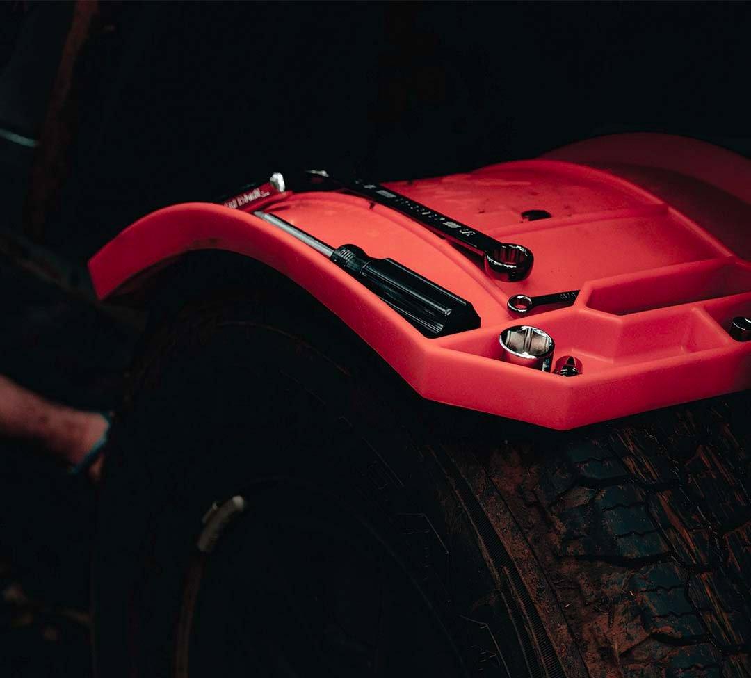 Grypmats Keep Tools Tidy at werd.com