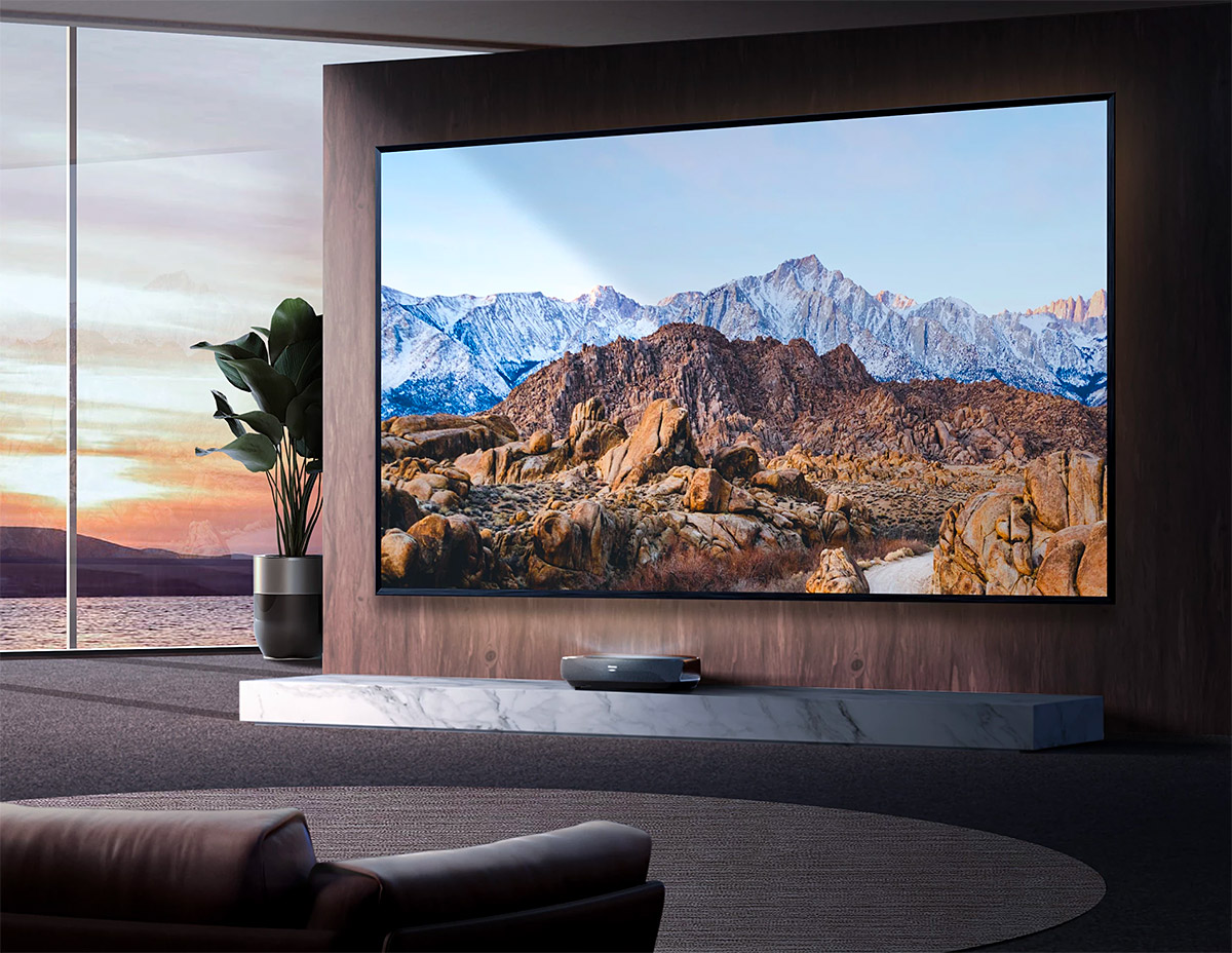 See the Big Picture with an L9G 4K Laser TV at werd.com