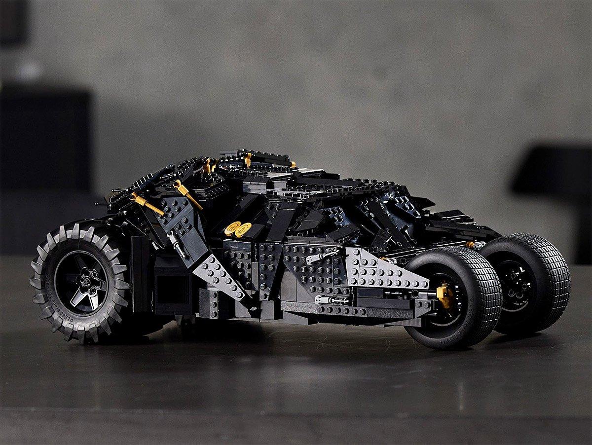 LEGO Unveils Batmobile Dark Night Tumbler at werd.com
