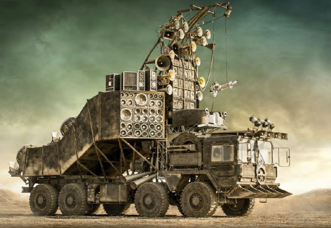 <i>Mad Max: Fury Road</i> Rigs Go Up for Auction at werd.com