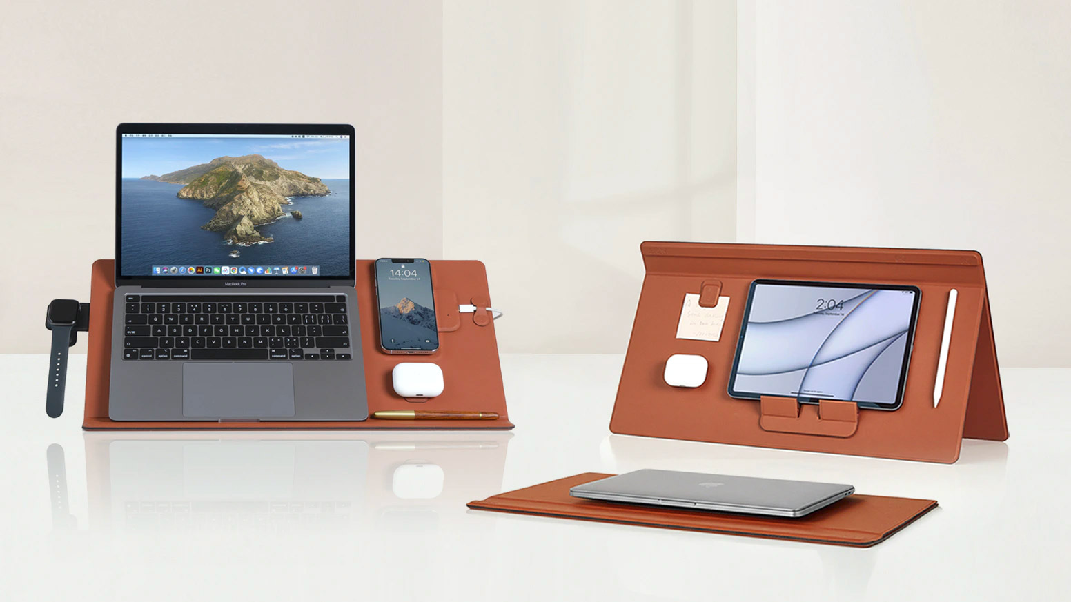 This Desk Mat Stands Up for All Your Devices at werd.com