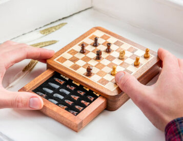 A Proper Chess Match Can Happen Anywhere