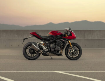 Triumph Adds Wind Protection to Speed Triple 1200 RR