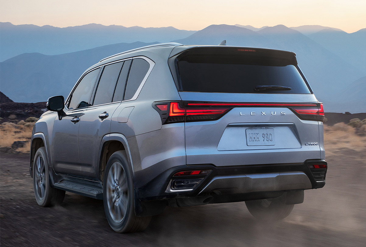 Offroad Luxe: Lexus Rolls Out 2022 LX 600 at werd.com