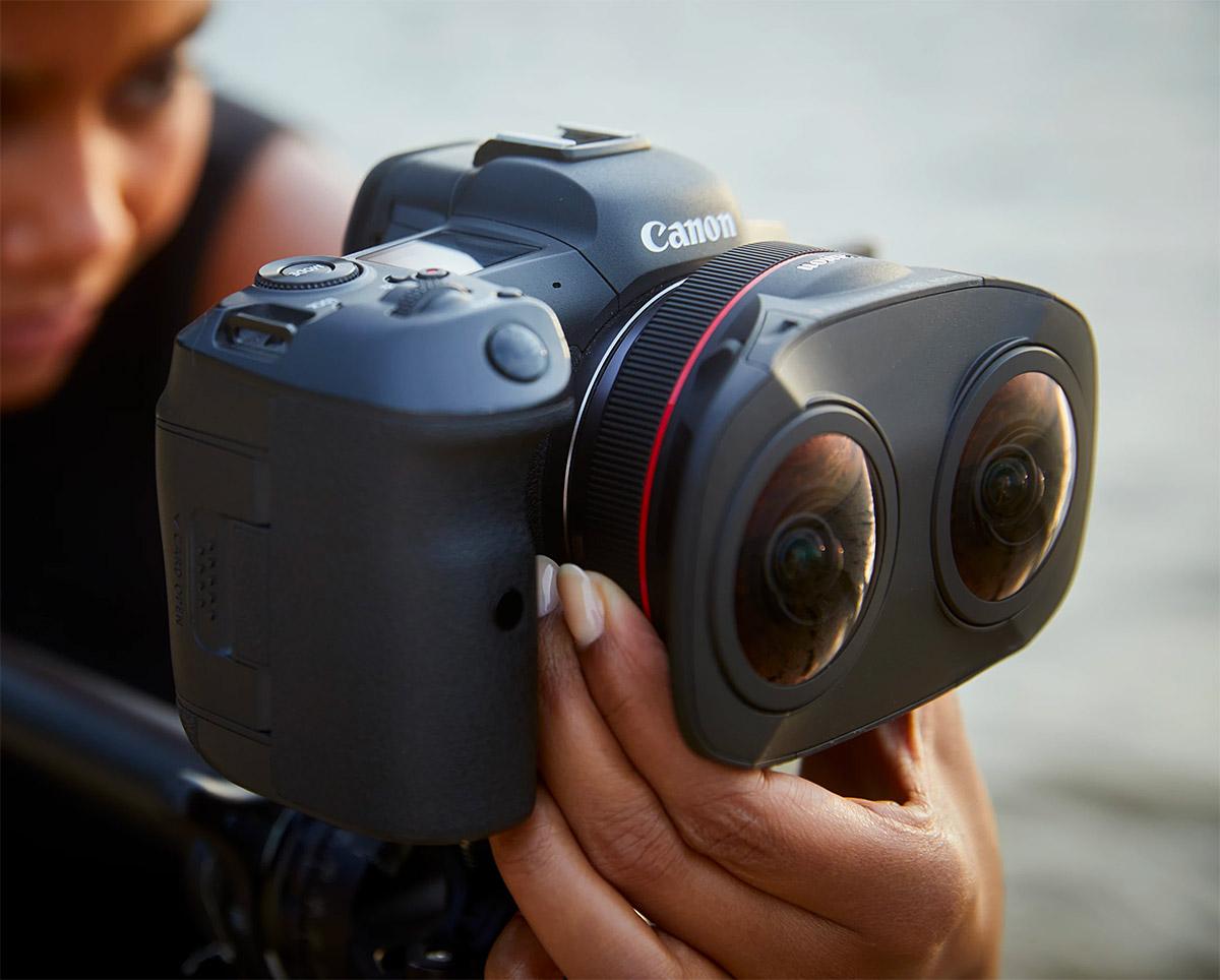 Canon Unveils Dual 8K 3D VR Lens at werd.com
