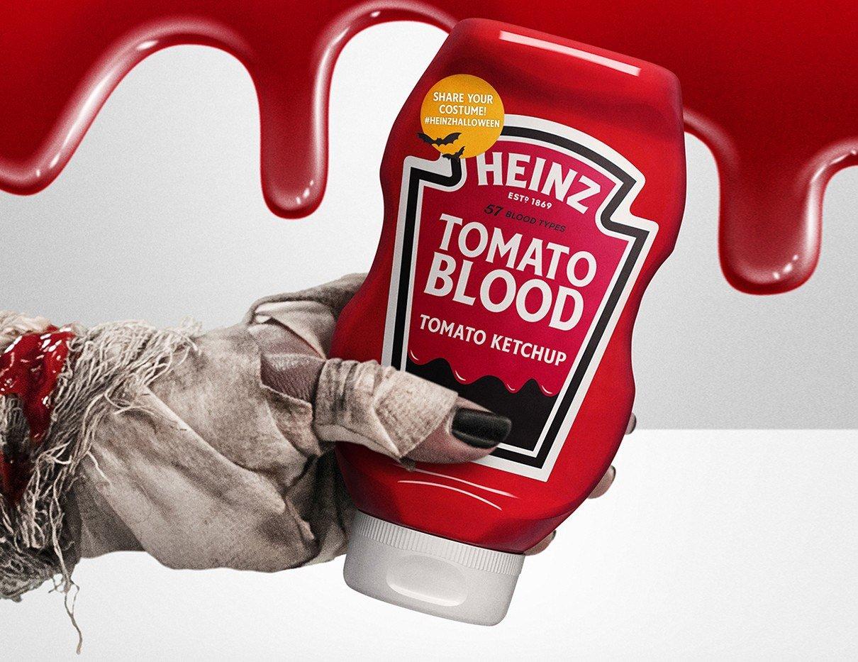 Heinz Made Killer Ketchup for Halloween at werd.com