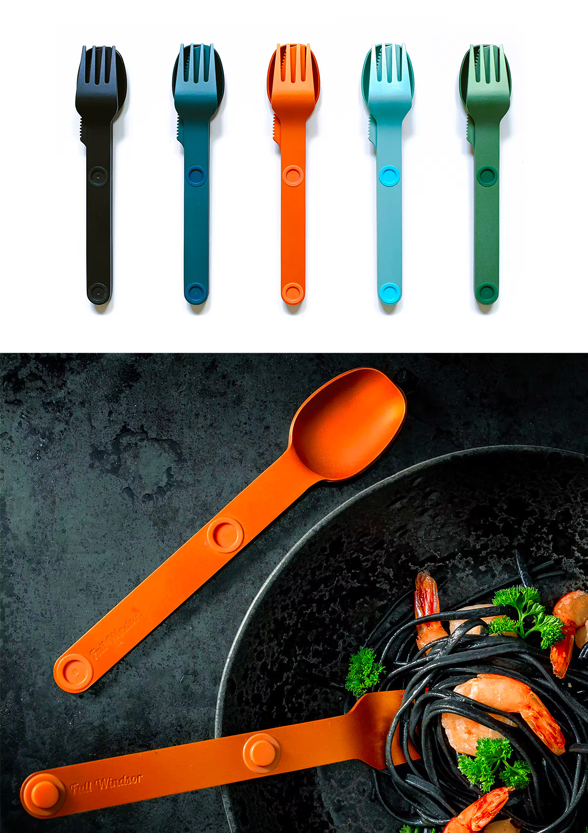 Picnic Plastic-Free with this Fresh Cutlery Kit at werd.com