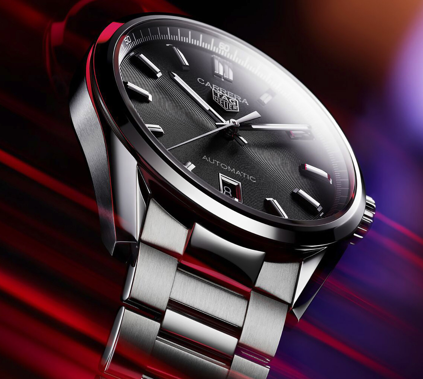 TAG Heuer Introduces Revised Carrera Three Hand Collection at werd.com