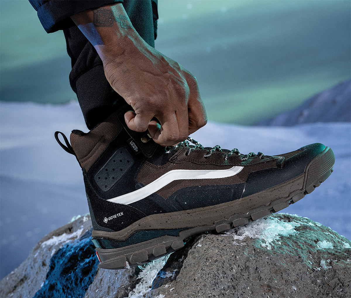 Vans Steps into Winter with Gore-Tex EXO MTE-3 Boot at werd.com