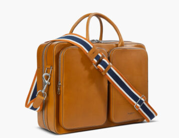 The Canfield Traveler Brief Looks Good in Leather