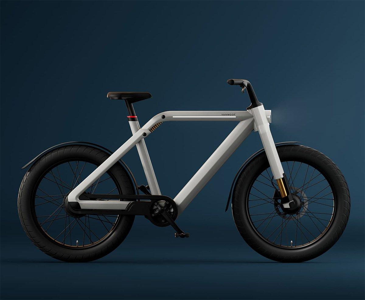 VanMoof Unveils High-Speed V Hyperbike at werd.com