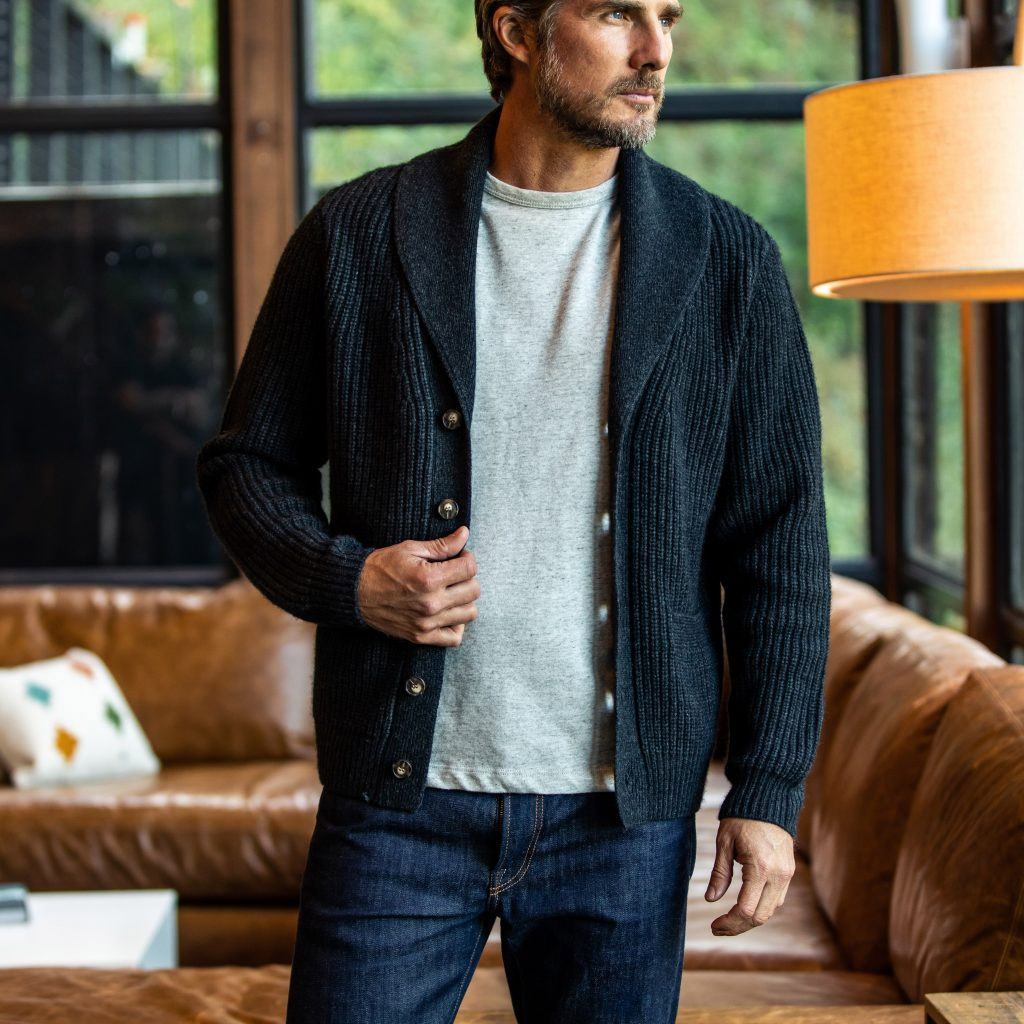 Wills is Crushing It in Cashmere at werd.com